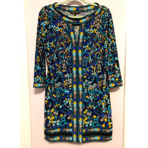 BCBGMaxAzria Patterned Stretchy Shift Dress